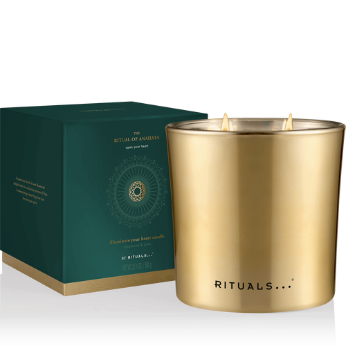 The Ritual of Anahata Large Candle