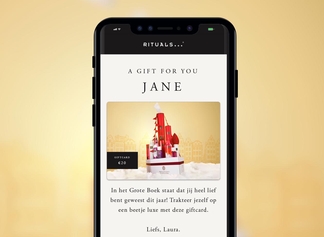 Shop Rituals online gift card