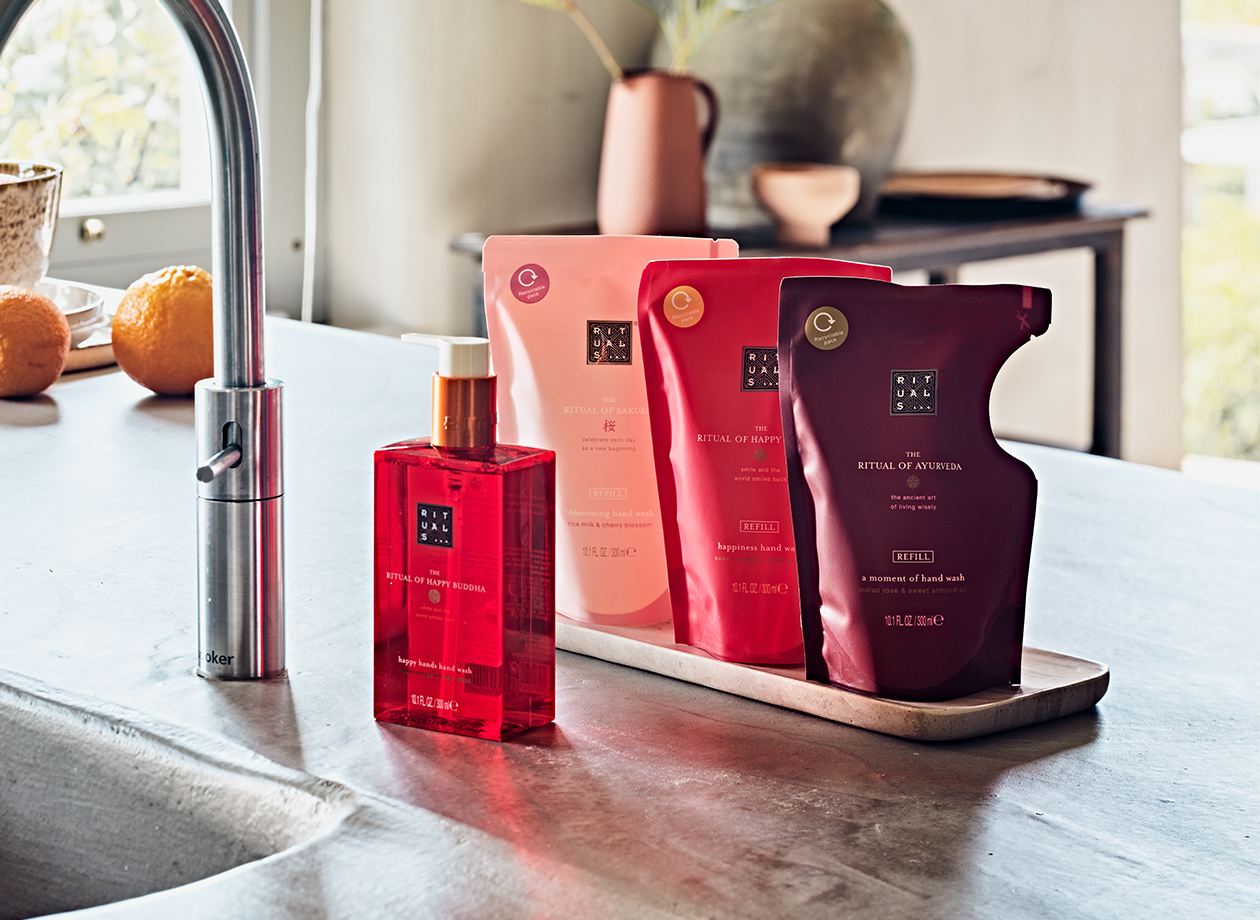 Shop hand wash and refill with discount