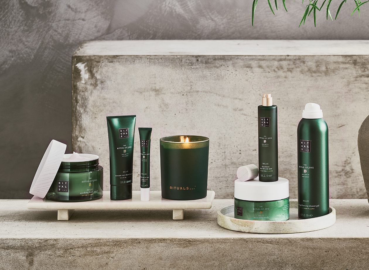 The Ritual of Jing Relax Collection