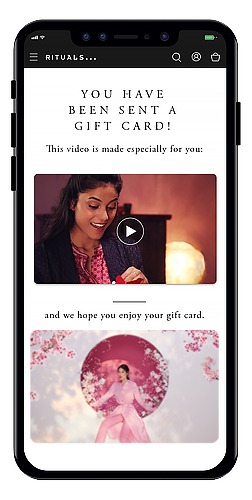 Shop online gift card