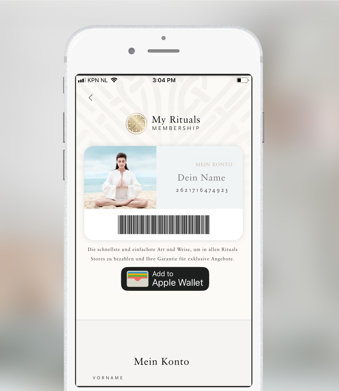 Download the My Rituals App
